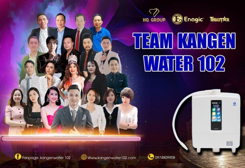 Kangen water 102 - Những mảnh ghép kiến tạo cho xu hướng cho ngành chăm sóc sức khỏe chủ động
