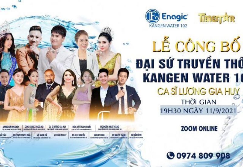 Lễ công bố Đại sứ truyền thông Kangen water 102