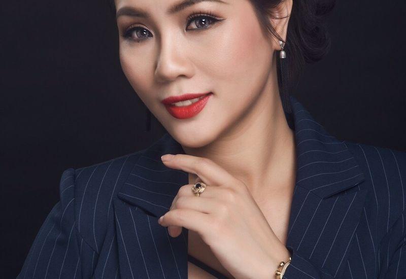 Quách Thanh Huyền - Giám đốc sáng tạo hệ thống Hair Salon Vicky Q đồng hành cùng Kangen water 102 đem đến giải pháp chăm sóc tóc đẹp cho khách hàng